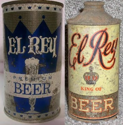 El Rey Beer Cans