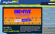 Drug Free New Hampshire - website