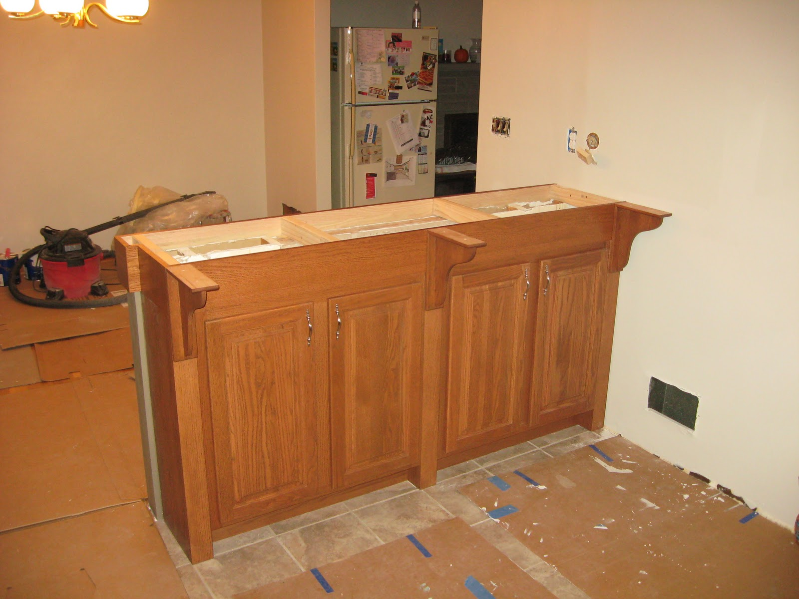 How to Build a Kitchen Bar Counter