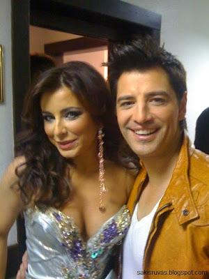 Сакис Рувас (Sakis Rouvas) и Анни Лорак
