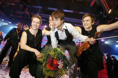 Победители Евровидения: Александр Рыбак и его норвежская команда