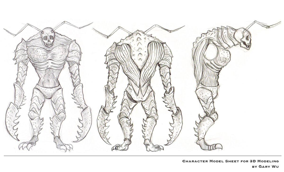 Fantasy Character Design Sheet : Body turnaround g model sheet pinterest