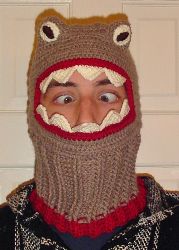 Oneloopshy Designs Monster Ski Mask