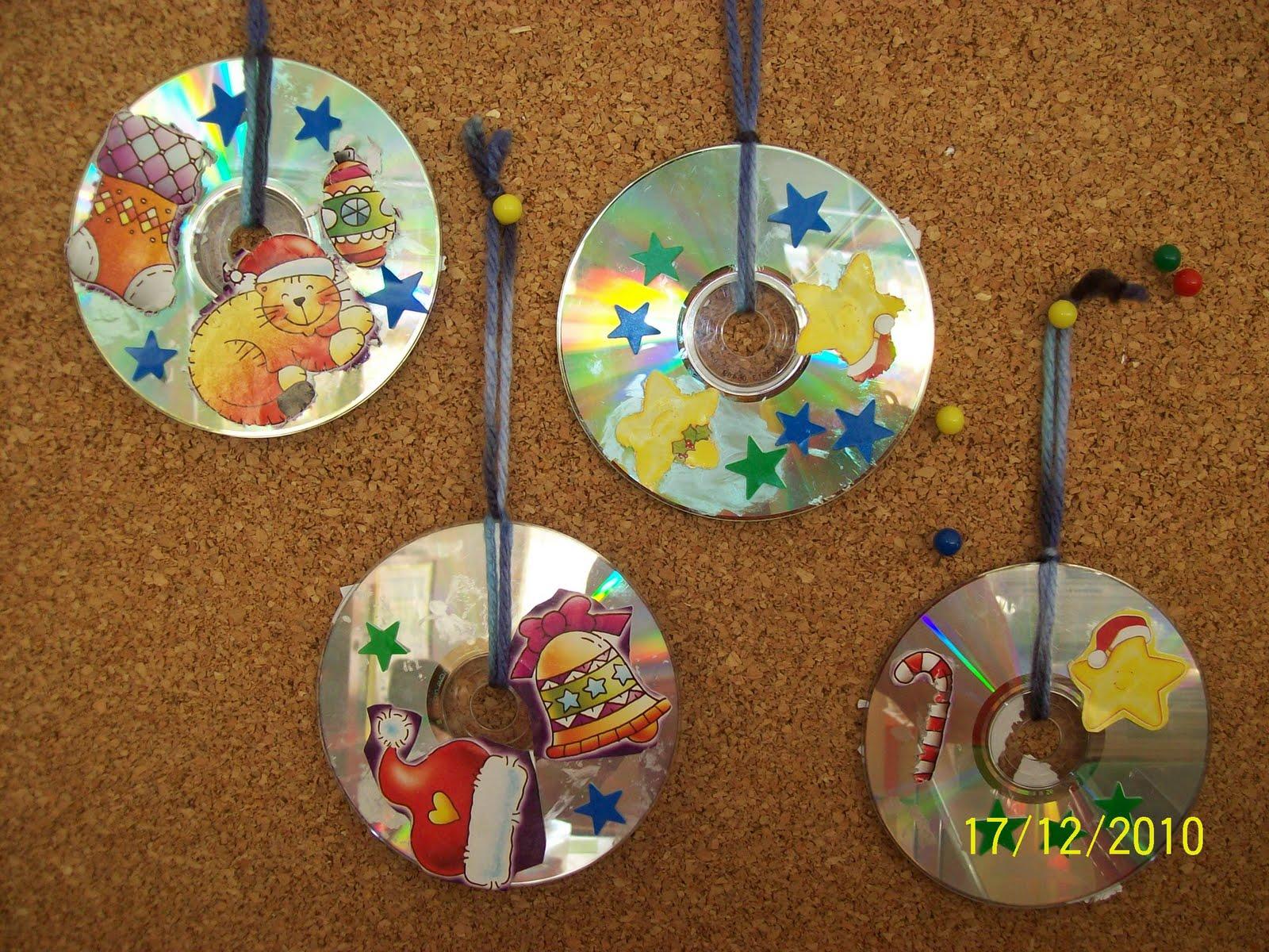 M s de 1000 im genes sobre actividades con cd en pinterest - Manualidades con cd usados ...