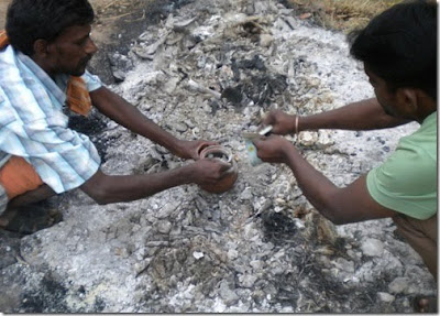 Hindu Ritual death ceremony cremation