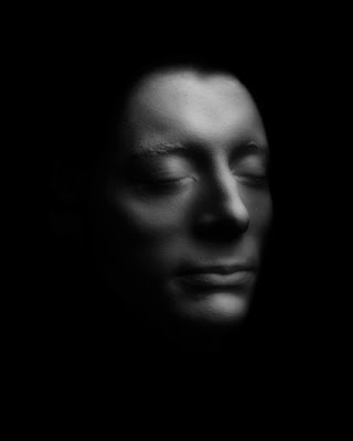 John Keats death mask