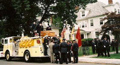 fireman funeral cremation ritual
