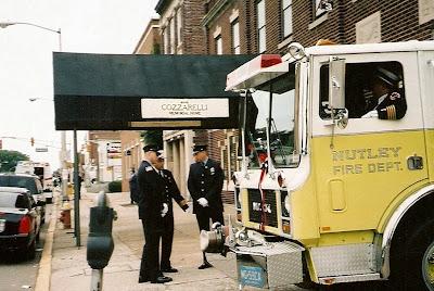 death ritual fireman funeral