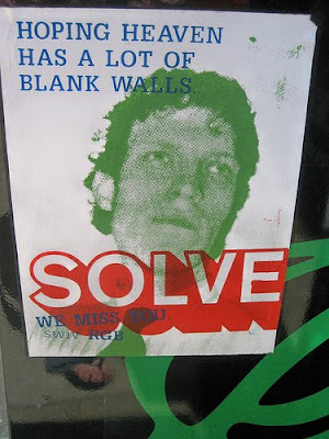 solve sticker memorial