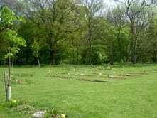 green burial natural cemetery microchip