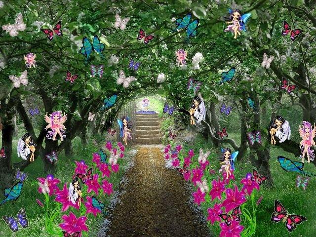 el jard n de las hadas el jardin de las hadas