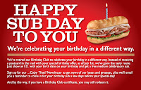 photo relating to Firehouse Subs Coupon Printable identified as Free of charge Sub versus Firehouse Subs upon your birthday! Precisely demonstrate