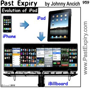 [CARTOON] iPad Evolution. Apple, cartoon, computers, entertainment, internet, spoof, technology, toy