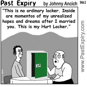 [CARTOON] The Hurt Locker.  images, pictures, cartoon, entertainment, movie, men, relationships, pun, cartoon, entertainment, movie, men, relationships, pun, spoof, women