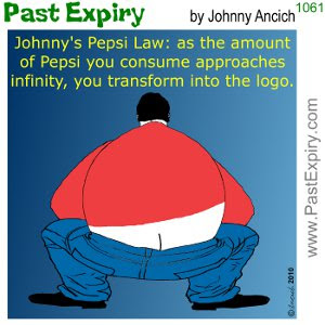[CARTOON] Drinking too much Pepsi?. advertising, cartoon, diet, drinks, health, logo
