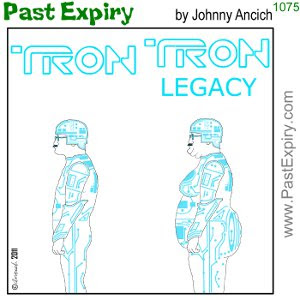 [CARTOON] Tron Legacy Movie. cartoon, Disney, entertainment, movie, spoof, diet, superhero,