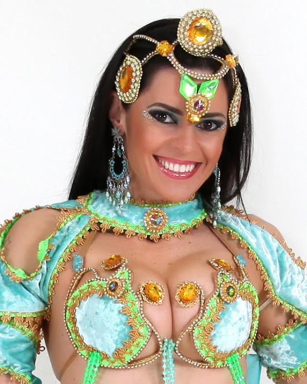 lucianie siolari/ bailarina de foz do iguaçu