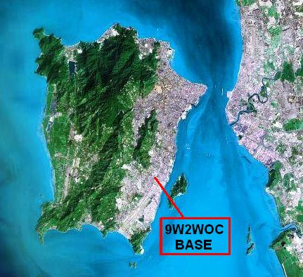 Penang Island Satellite View