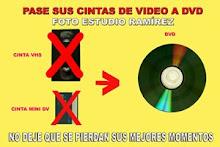 PASE SUS CINTAS VHS A DVD