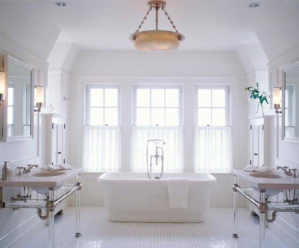 Mesase White Bathrooms