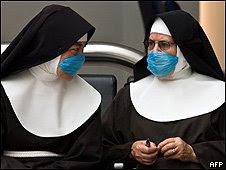 Gripe Suína duas freiras
