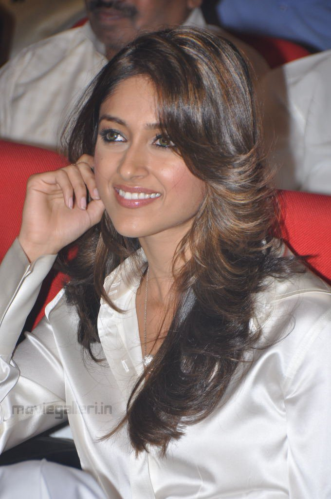 , Ileana D'Cruz Sexy in Silver Dress