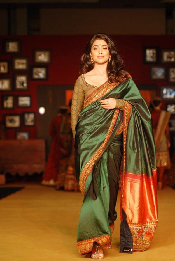 Shriya Saran Fashion Show