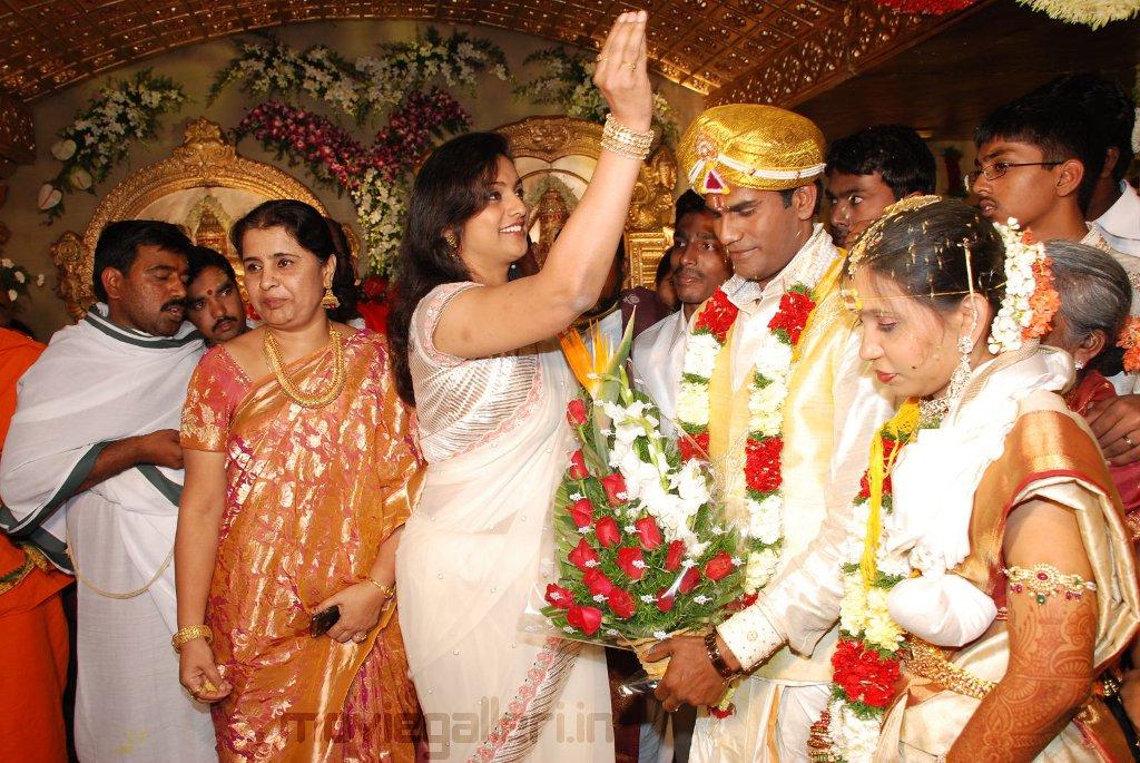 Celebs At Ram Bhupal Reddy Daughter Marriage Stills New