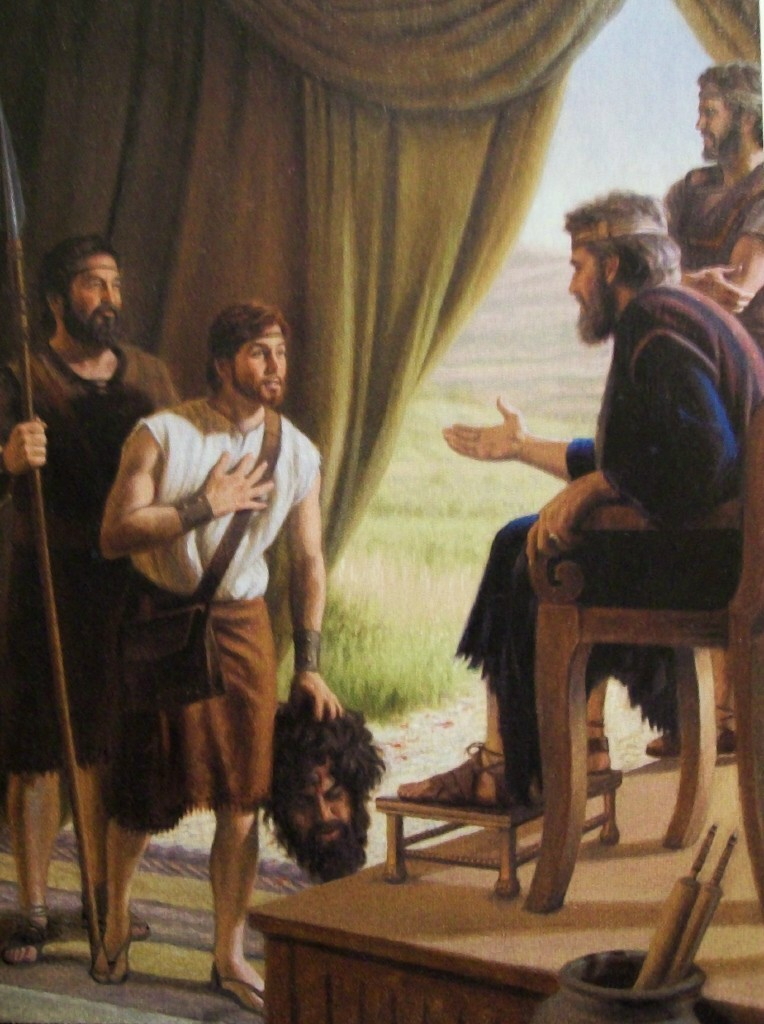 David, King Saul and Goliath | The Bible Through Artists' Eyes
