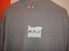 Triathlon in Oregon t-shirt
