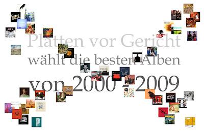 Platten vor Gericht wählt die besten Alben von 2000 - 2009