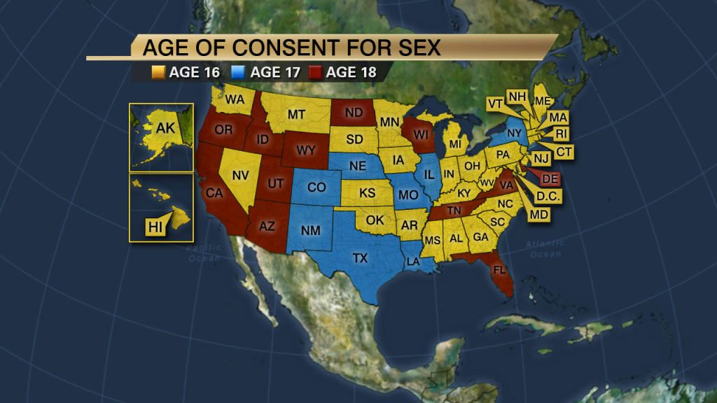 With you Legal age for consensual sex agree