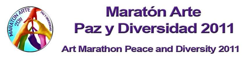 Maraton Arte Paz y Diversidad 2011