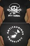 Camisetas Antitaurinas para chica: 3 modelos diferentes.