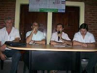 Jorge YOLOFF; Ing. LAGRAÑA; Gabi NINOFF; Maxi UEZ