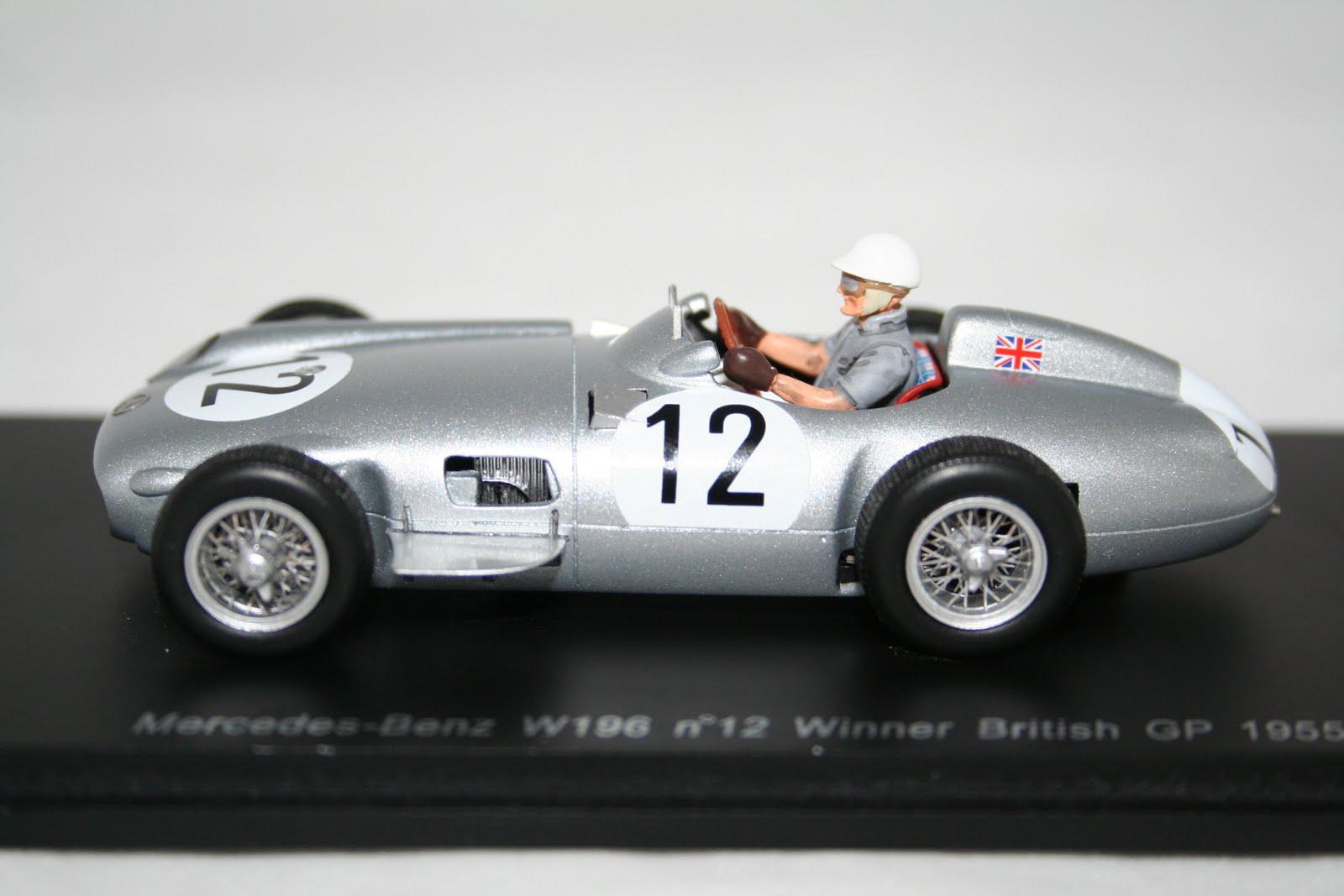 Hart motorsport mercedes w196 s moss 1955 for Moss motors mercedes benz