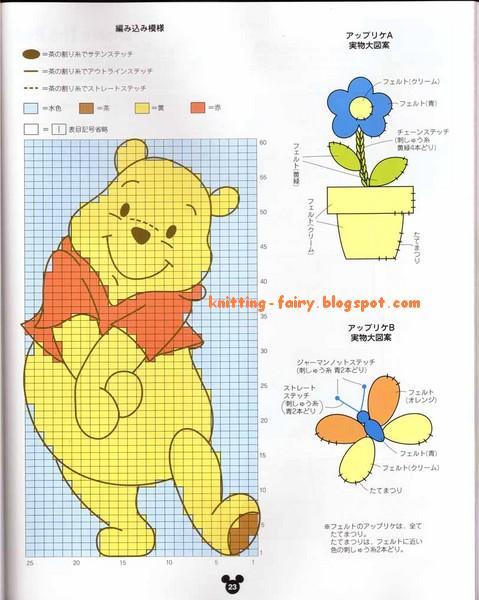 Вязание детских вещей с рисунками 138
