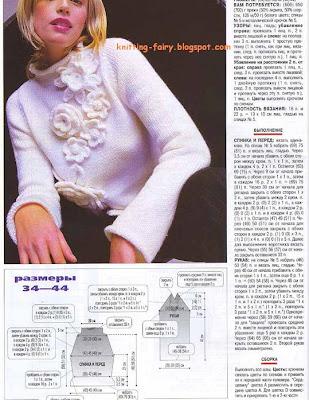 Вязаный Пуловер Для Полных Доставка