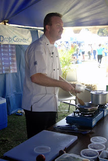 Jason Ford at the 2007 Fraser Coast Living Expo