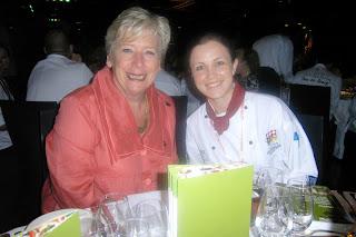 Maggie Beer with Helen Pratt