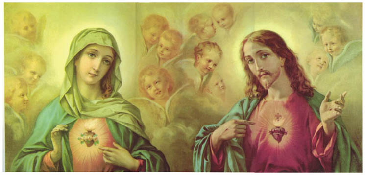Este blog está consagrado a los Corazones de Jesús y María