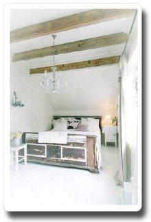 Vackert sovrum - Landstil