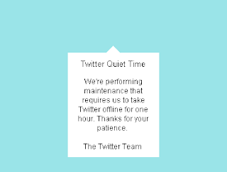 Twitter Quiet Time