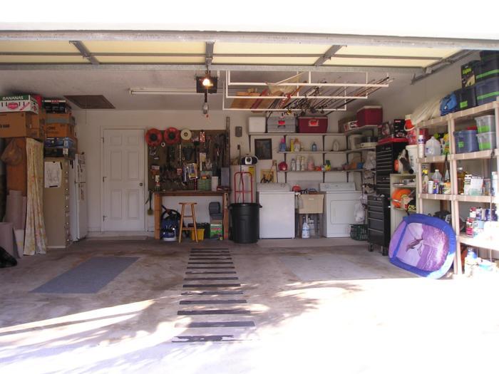 Landscape blog spot december 2010 - Inside of a garage ...
