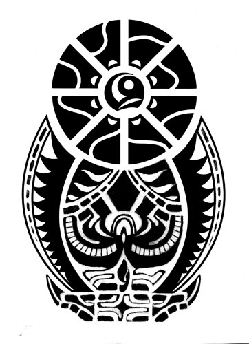 Maori Tribal Tattoo Design Picture 1