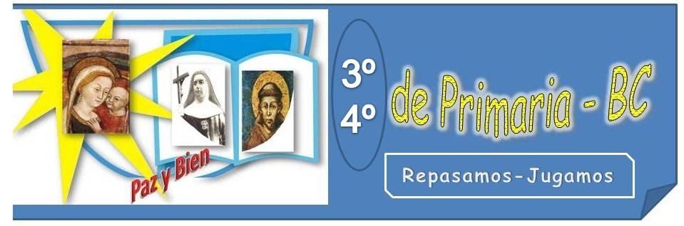 2 º  CICLO DE PRIMARIA-CBC- REPASO