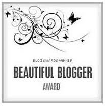 ......Beautiful Blogger Award