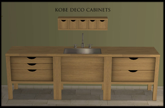 Buggy 39 s retreat kitchen basic extras lots of new goodies for Basic kitchen wall units