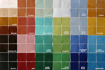 Zillij Mosaics Moroccan Tiles Are Available In Several Colors And Hues
