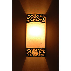 Moorish wall sconces - Contemporary Moroccan sconces | Moroccan